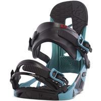 Teal K2 Indy Snowboard Bindings Mens