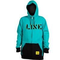 Teal Line Original Full Zip Hoodie Mens
