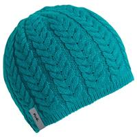 Teal Turtle Fur Meringue Hat Womens