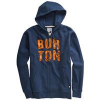 Team Blue Burton Fracture Full Zip Hoodie Mens