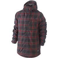 Team Red / Black / Light Charcoal Nike Bellevue SE Jacket Mens