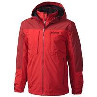 Team Red / Dark Crimson Marmot Gorge Component Jacket Mens