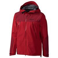 Team Red / Dark Crimson Marmot Troll Wall Jacket Mens
