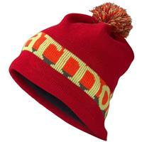 Team Red Marmot Retro Pom Hat