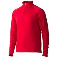 Team Red Marmot Stretch Fleece 1/2 Zip Mens