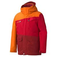 Team Red/Vintage Orange Marmot Space Walk Jacket Boys