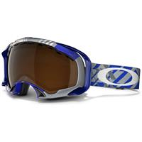 Tech Plaid Blue Frame / Black Iridium Lens (57 883) Oakley Splice Goggle