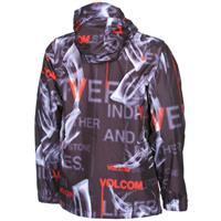 Text Smoke Volcom Construct Jacket Mens
