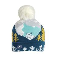 Turtle Fur Peekaboo Yeti Beanie - Youth