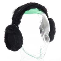 Black Turtle Fur Vermont Collection Shealing Earmuff Womens