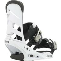 Thats White Burton Mission Re:Flex Snowboard Bindings Mens