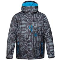 The Line Asphalt Quiksilver Mission Insulated Jacket Mens