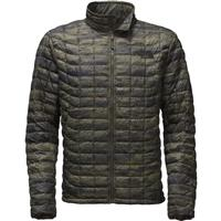 Rosin Green The North Face Thermoball Full Zip Jacket Mens