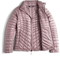 Quail Grey The North Face Thermoball Full Zip Jacket Womens
