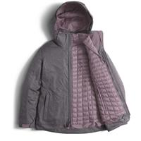 Rabbit Grey The North Face Themoball Snow Tri Parka Womens