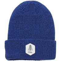 Coal The Scout Heather Knit Cuff Beanie - Royal Blue