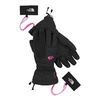 TNF Black / Azalea Pink The North Face Montana Gloves Womens