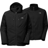 TNF Black The North Face Apex Storm Peak Triclimate Jacket Mens