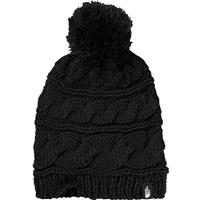 TNF Black The North Face Triple Cable Pom Beanie Womens