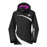 TNF Black / TNF White The North Face Mountain View Triclimate Jacket Girls