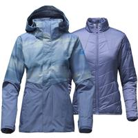 Coastal Fjord Blue Snowscape The North Face Garner Triclimate Jacket Womens