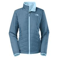 Cool Blue / Tofino Blue The North Face Mossbud Swirl Triclimate Jacket Womens (liner)