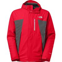 TNF Red / Asphalt Grey The North Face Plasma Thermoball Jacket Mens