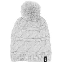 TNF White The North Face Triple Cable Pom Beanie Womens