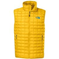 TNF Yellow The North Face Thermoball Vest Mens