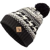 Weather Black / Vintage White Multi The North Face Fair Isle Beanie Youth