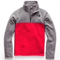Red / Grey Heather The North Face Glacier 1/4 Zip Boys