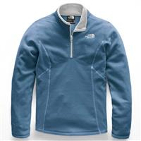 Blue Wing Teal The North Face Glacier 1/4 Zip Girls
