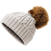 The North Face Oh Mega Fur Pom Beanie Womens