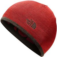 The North Face Reversible TNF Banner Beanie - Bracken Brown / Rage Red