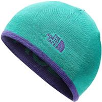 The North Face Reversible TNF Banner Beanie - Deep Blue / Green