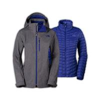 The North Face Thermoball Snow Triclimate Parka Womens