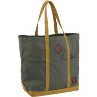 Forest Night Ripstop Burton Crate Tote Lrg