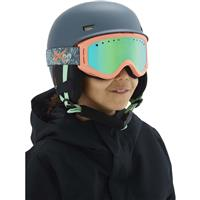 Anon Tracker Goggle - Youth - Tangle Frame with Green Amber Lens (185271-973)