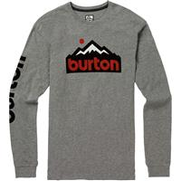 Gray Heather Burton Trailmate Active LS Shirt Mens