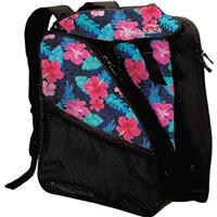 Pink Hibiscus Transpack XTW Ski Boot Bag
