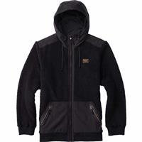 True Black (17) Burton Tribute Full Zip Fleece Mens