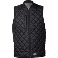 True Black Analog Divest Vest Mens