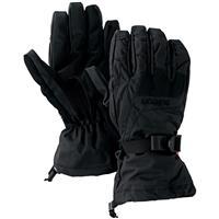 True Black Black Heather Diamond Burton Gore Gloves Mens