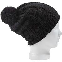 True Black Burton Answer Beanie Womens