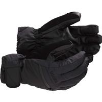 True Black Burton Gore Tex Under Gloves Mens