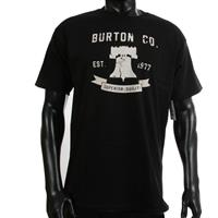 True Black Burton Liberty Bell Tee Mens