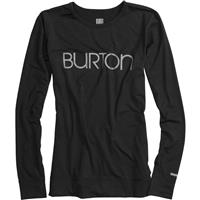 True Black Burton Midweight Crew Top Womens