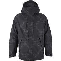 True Black Corpo Burton Hilltop Jacket Mens