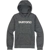 True Black / Dark Ash Heather Burton Oak Bonded Pullover Hoodie Boys