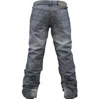 True Black Denim Print Burton The Jeans Pants Womens